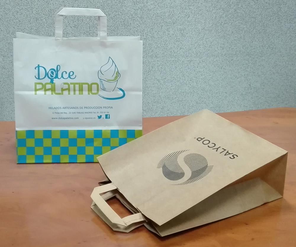4e45b5033 Bolsas de papel personalizadas en España | Plásticos del Oro